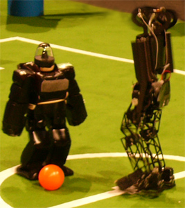 RoboCup 2006 Humanoid League 2 vs. 2 soccer games